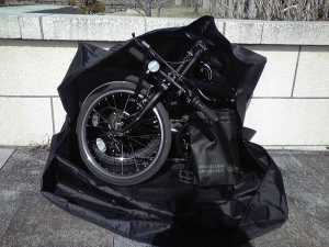 CYLVA F6F 輪行バッグ収納作業 02