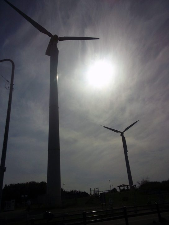 宮川公園 風力発電機