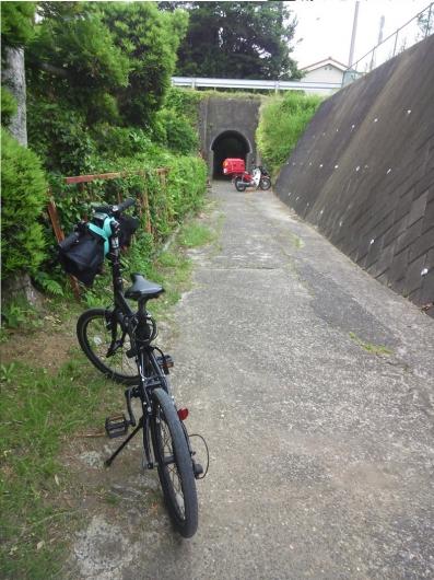 トンネル発見