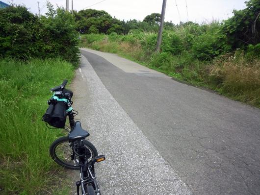 案内板からの走行距離 8km地点