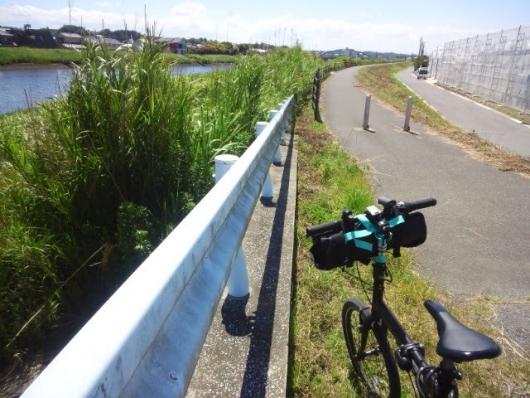 シルヴァF6F 一宮川 右岸の自転車道