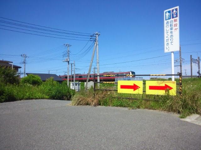 JR外房線 一宮川鉄橋付近