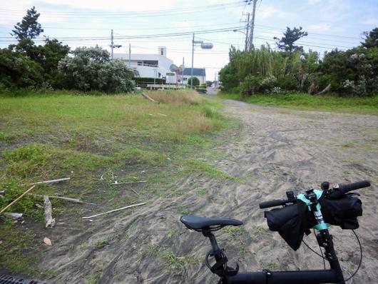 千倉駅前からの坂を降りたあたり