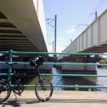 シルヴァF6F 外房線鉄橋下