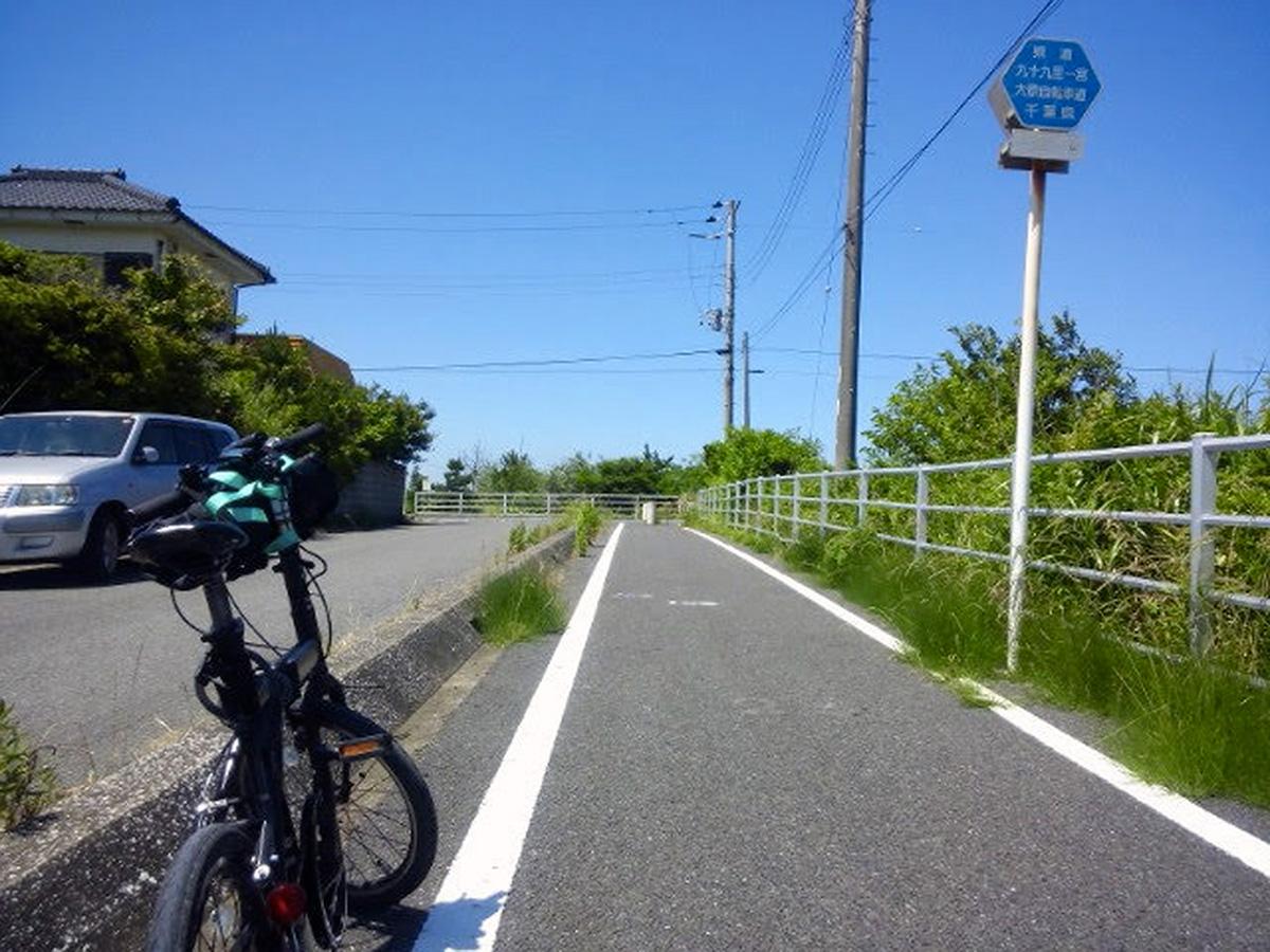 シルヴァF6F in 405 九十九里一宮大原自転車道線