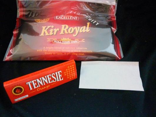 エクセレント・キールロワイヤル (EXCELLENT KIR ROYAL) 付属ペーパー TENNESIE Orange 60枚入り