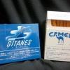 ジタン・カポラルと新キャメル・ライト (GITANES FILTRE and CAMEL LIGHT)