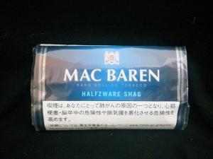 マックバレン・ハーフツワレ (MAC BAREN HALFZWARE)