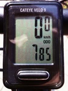 全走行距離:785 km