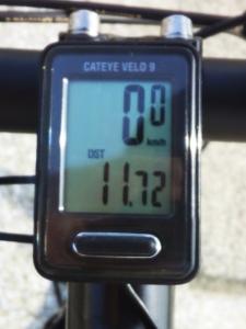 距離(往路):11.72 km