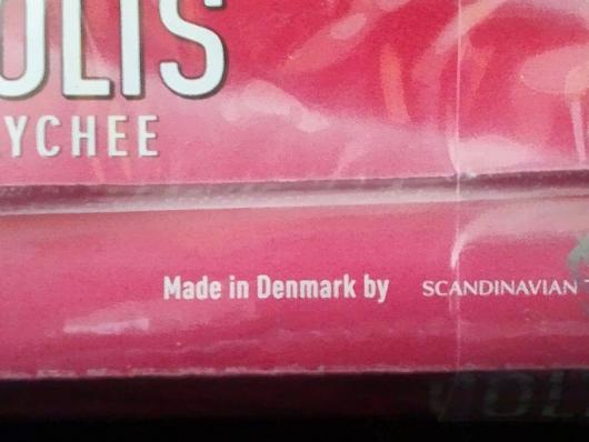 コルツ・ライチ Made in Denmark