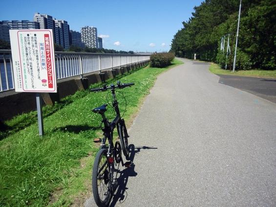 シルヴァF6F:花見川サイクリングコース 利用案内版