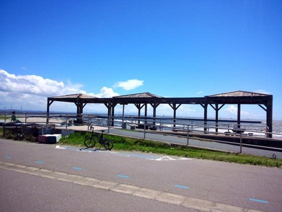 シルヴァF6F:花見川サイクリングコース、スタート地点(海岸側)