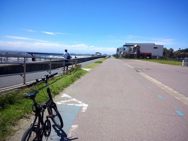 シルヴァF6F:花見川サイクリングコース、スタート地点