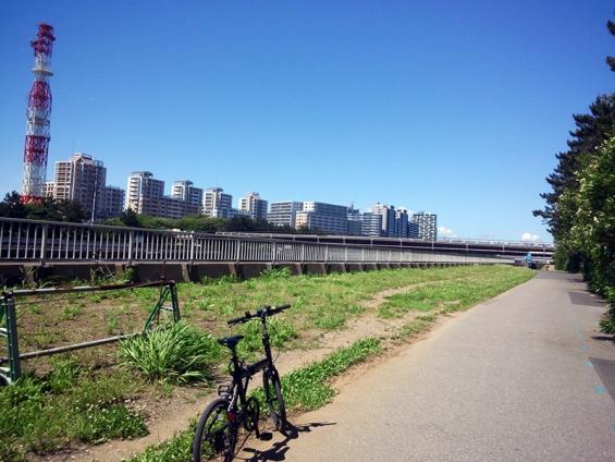 シルヴァF6F:花見川サイクリングコース