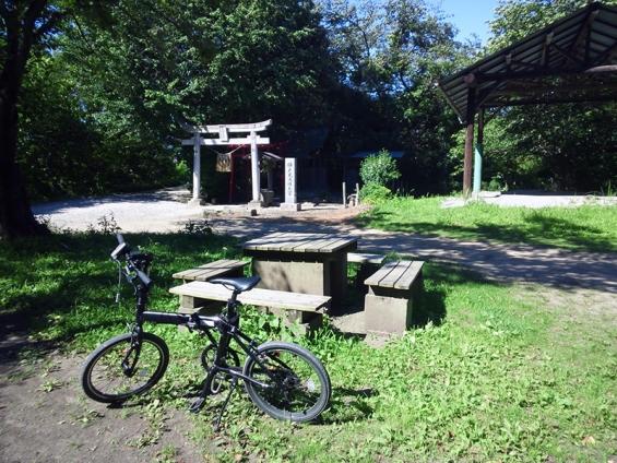 シルヴァF6F 花見川サイクリングコース 休憩所(終点)