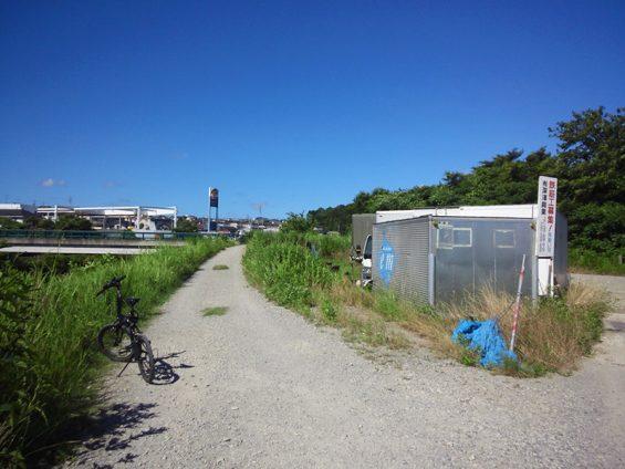 シルヴァF6F 花見川サイクリングコース ここどこ?休憩所は?