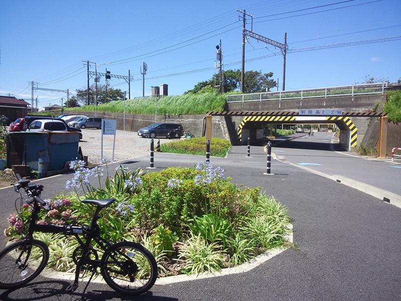 シルヴァF6F 花見川サイクリングコース 京成千葉線アンダーパス