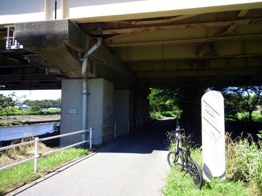 シルヴァF6F 花見川サイクリングコース 京葉道路 アンダーパス (02)