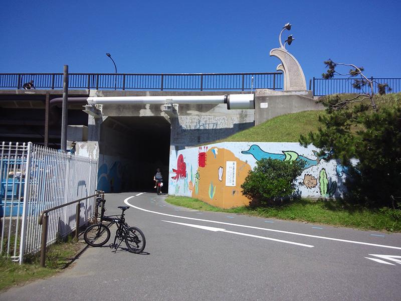 シルヴァF6F:美浜大橋アンダーパス