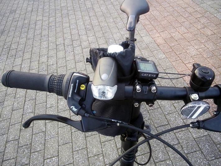 シルヴァF6F with ポタバイク ステムサイドポーチ