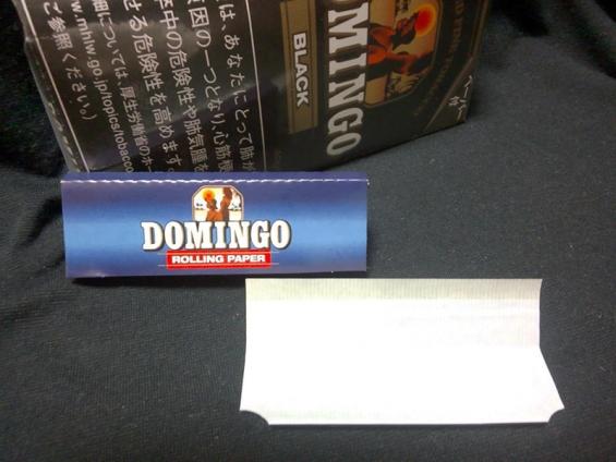ドミンゴ・ブラック 付属ペーパー ドミンゴオリジナル カット有り 50枚入り