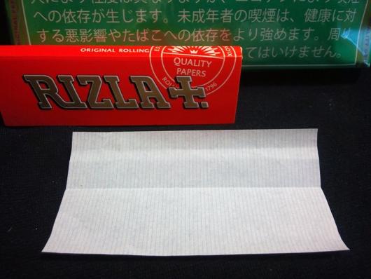 ドラム・メンソール(DRUM MENTHOL)付属ペーパー(RIZLA+. ORANGE 60枚入り)