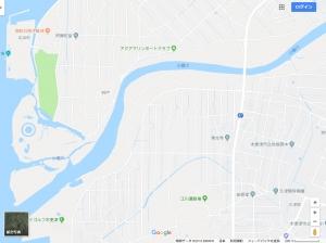 小櫃川(Googleマップ)