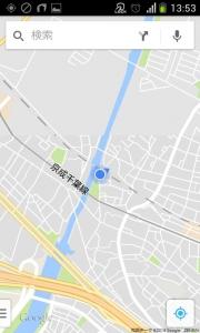 花見川サイクリングコース 総武本線アンダーパス (Google マップ 07)