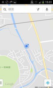 花見川サイクリングコース?(Googleマップ 12)