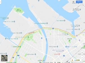 養老川(Googleマップ)