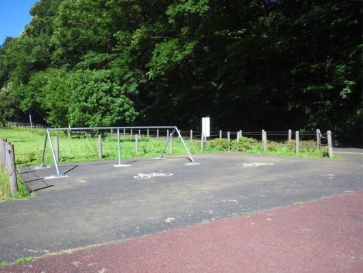 花島公園 自転車ラック(バイクラック)花島公園 バイクラック