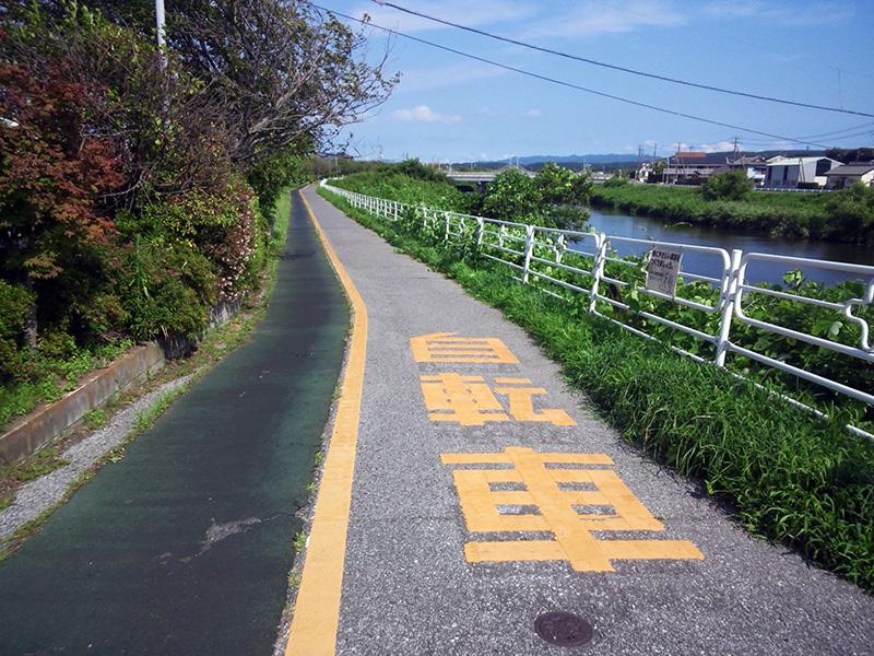 小糸川沿岸歩行者専用道