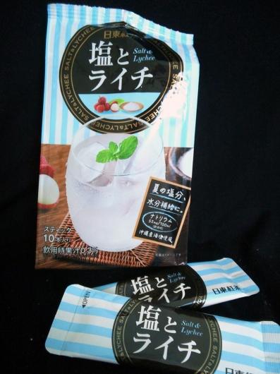 塩とライチ(日東紅茶)180ml用スティックx10本入り