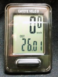 走行距離:26.01 km