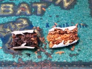 カットタバコ:使用済み、使用前の状態