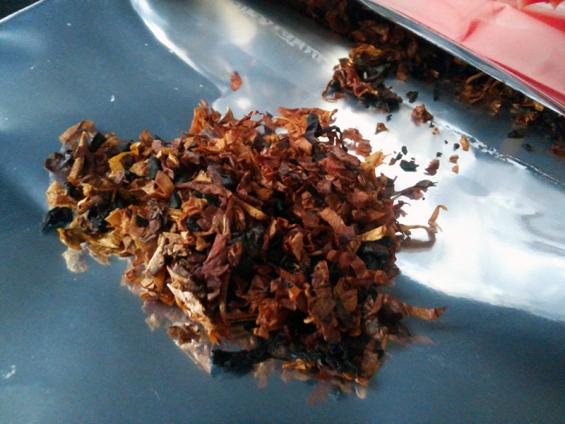 セブンシーズ・チェリーブレンド:タバコ葉の状態