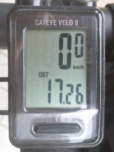 走行距離:17.26 km