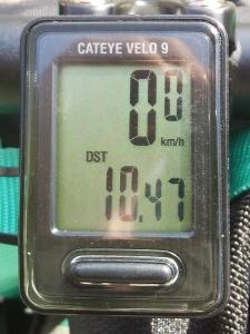 走行距離:10.47 km
