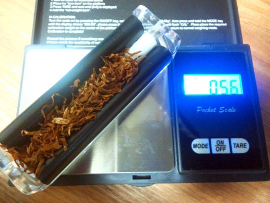 1本分の重さ:0.56g