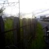 シルヴァF6F 早朝の線路沿い