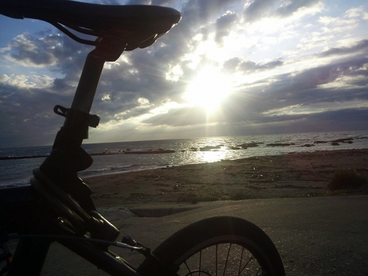 シルヴァF6F 早朝の瀬戸浜海岸