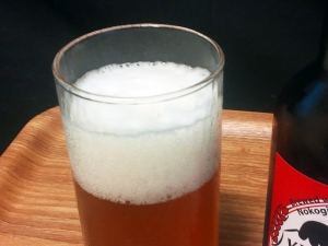 鋸南麦酒(KYONAN BEER)泡立ち:アメリカン・ペール・エール(AMERICAN PALE ALE)