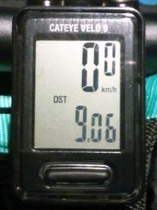 走行距離:9.06 km