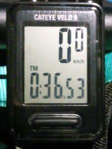 走行時間:00:36:53