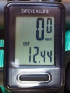 走行距離:12.44 km