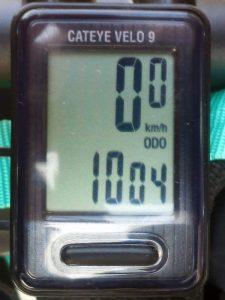 全走行距離:1004 km