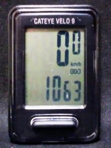 全走行距離:1063 km