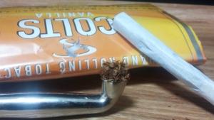 煙管(キセル)で吸うコルツ・バニラ
