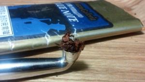 煙管(キセル)で吸うガレリア・ブルーノート